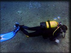 ejercicio de flotabilidad a un palmo del fondo