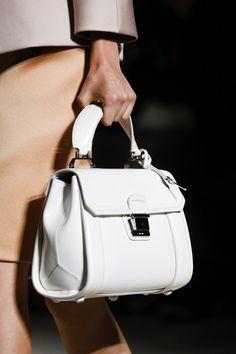 See all the Details photos from Miu Miu Spring/Summer 2015 Ready-To-Wear now on British Vogue Miu Miu Handbags, Fashion Handbags, Purses And Handbags, Fashion Bags, Leather Handbags, Beautiful Handbags, Beautiful Bags, Kelly Bag, Miu Miu Tasche
