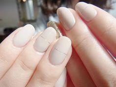 NAIL-COMMON: ヌードベージュネイル/Nude beige nail