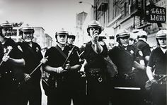 OPD. Most likely taken at the Vietnam War anti-draft protest 1967.