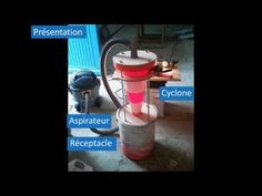 Demo aspirateur cyclonique maison - YouTube