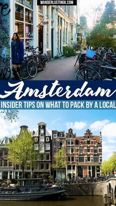 Packing for Amsterdam? Insider tips for what to wear in Amsterdam by a local for every season with a free printable packing list!