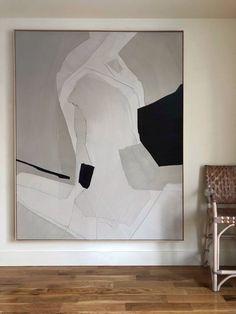 Abstract Wall Art, Abstract Art Paintings, Modern Abstract Art, Minimalist Art, Geometric Art, Large Art, Painting Inspiration, Art Interiors, Sculpture Art