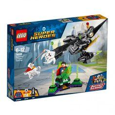 Lego 76096 Superman en Krypto werken samen