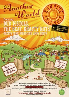 Sunrise Festivals: May 30th - June 2nd, at a New Secret Venue near Bath & Frome