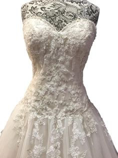 Chardonnay wedding dress maggie sottero wedding dress and ivory over light gold lace tulle dallasandra formal wedding dress recycled bridemaggie junglespirit Images