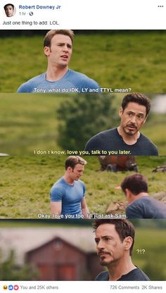 Random Pictures Of The Day 27 Photos - Bifunow , We've compiled 27 funny photos of the day for you. Have fun ! Avengers Humor, Funny Marvel Memes, Dc Memes, Avengers Funny Quotes, Funny Memes, Stony Avengers, Superfamily Avengers, Marvel Avengers, Tony Stark Steve Rogers