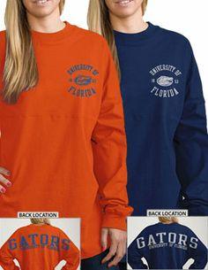 Product: University of Florida Gators Women's Ra Ra Football Long Sleeve T-Shirt