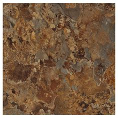 Style Selections 12-in x 12-in Patina Shale Slate Finish Vinyl Tile