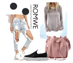 """""""# 6/4 Romwe"""" by almira-mustafic ❤ liked on Polyvore"""