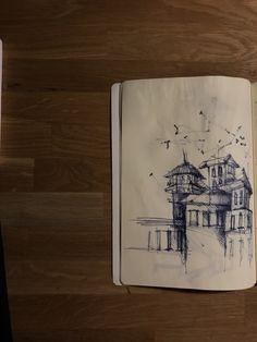 urban sketch,drawing