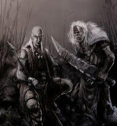 Trull and Onrack by ~slaine69 on deviantART