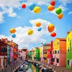 Burano Itália