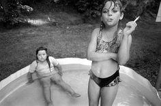 Mary Ellen Mark, Amanda and her Cousin Amy, Valdese, N.Carolina, 1990