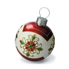 So pretty giant christmas ornaments fiber optic outdoor for Outdoor merry christmas ornaments