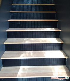 Carpet To Hardwood Stairs DIY