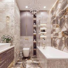 "Hardeep & Baldeep Sekhon on Instagram: ""How stunning is this bathroom design?✨By @estet.design ⠀ 💎Thinking of Selling or Buying? Call Us 👇👇👇 ⠀⠀⠀ ⠀⠀ 📱 Baldeep 416-738-6407⠀⠀ 📱…"" Bathroom Tile Designs, Bathroom Design Luxury, Bathroom Colors, Modern Bathroom, Small Bathroom, Dream Bathrooms, Amazing Bathrooms, Bathroom Goals, Bathroom Inspiration"