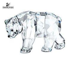 Swarovski Clear Crystal Figurine SCS SISTER BEAR Limited Edition #866308