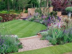 Need backyard ideas? Try these fixes for a sloped, shady or boring backyard. Subtle Terracing in Backyardand Garden Idea This backyard benefits from the subtle use of various textures on its terraces that ups the excitement level. A dramatic wall gives a feeling of enclosure and privacy, a great solution when neighbors might be close. ...