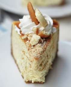 Bourbon Banana Pudding Cheesecake