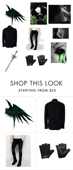 """Toxic Demon"" by lucywilliams1999 ❤ liked on Polyvore featuring Armani Collezioni, Sik Silk, Casall, men's fashion and menswear"