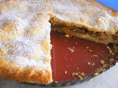Fizule71: Pečeme - jablečný páj Pancakes, Breakfast, Desserts, Food, Page Boys, Morning Coffee, Tailgate Desserts, Deserts, Essen