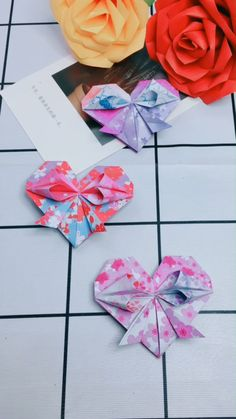 DIY - Lovely Paper Heart - Give joy from heart to heart! Give joy from heart to heart! More origami inspiration and decoration - Diy Origami, Origami Ball, Paper Crafts Origami, Paper Crafting, Heart Origami, Origami Gifts, Origami Design, Diy Crafts Videos, Diy And Crafts