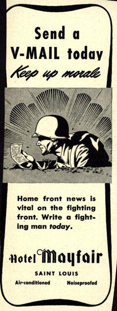 Victory Mail - World War 2  - 1944