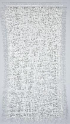Jennifer Davies   Vice Versa   string + handmade paper