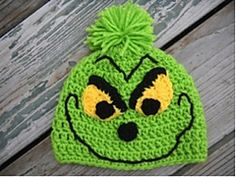 Ravelry: Christmas Grinch Hat pattern by Cadi Schmidt