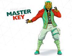 How to draw Master Key easy Video Game Art, Video Games, Christmas Cocktail Party, Master Key, Battle Royal, Online Portfolio, Dragon Ball Z, Irene, Tattos
