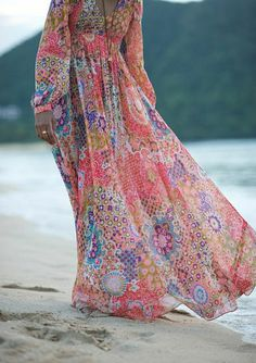 wunderschönes Kleid in Boho Chic Stil