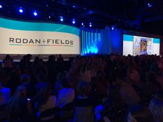 Rodan + Fields is going places! Watch it now http://rodanandfields live.com all weekend. Join my team at http://victoriaskincare.myrandf.biz