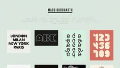 Mads Burcharth - Web design inspiration from siteInspire
