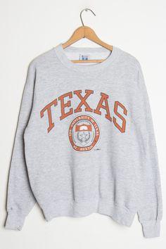Vintage Texas University Sweatshirt - Ragstock