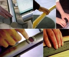 Braille Staircase Handrail To Navigate Visually Impaired