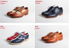 Grenson x Heritage Research men's shoes. Brogues with a twist. Anyone for ten pin bowling?