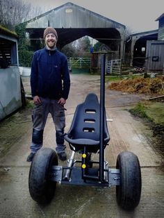 Thomas English's Rickshaw made by Jay Dalton and Balloon Modified by Alex Saunders.