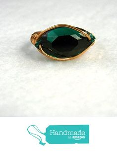 Copper Swarovski Navette Crystal Statement Ring Green from S L Jewelry Designs http://www.amazon.com/dp/B017QODV6C/ref=hnd_sw_r_pi_dp_2bQswb1NB1D4Z #handmadeatamazon