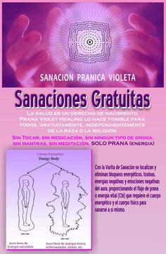 Sanaciones gratuitas de Prana Violet Healing