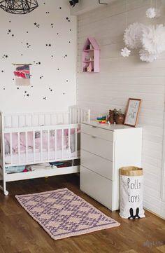 Crochet nursery rug / area rug / bedroom rug / kids rug / handmade rug / modern nursery / scandinavian rug / baby room rug / nursery decor #ScandinavianRugs