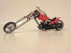 Lego Motorcycle, Chopper Live to Ride