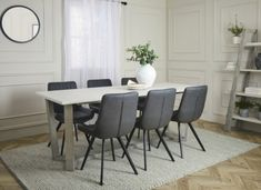 Dining Set, Dining Chairs, Dining Table, Global Home, Modern Industrial, House, Furniture, Home Decor, Ideas