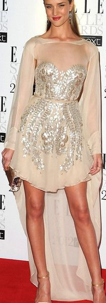 Rosie Huntington-Whiteley Cocktail Dress - Rosie Huntington-Whiteley Looks - StyleBistro