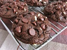 Delectably Mine: Death By Chocolate Chip Cookies recipes