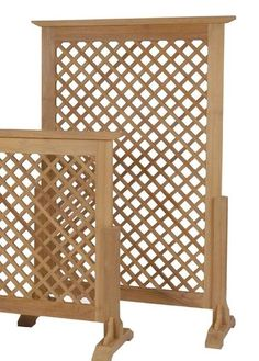Outdoor Teak Privacy Screens, we have them.