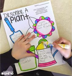 Plants - This blog post is PACKED with fun writing activities for a plant unit! PERFECT for Spring :)