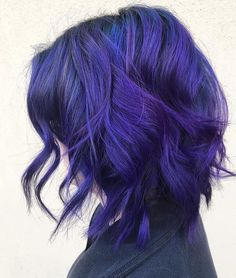 @hairbyowlz is the artist... Pulp Riot is the paint. #pulpriothair #purple #haircolor