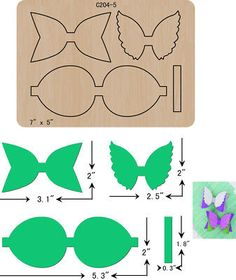 Bow wooden die thick 15 cutting dies scrapbooking c 204 5 Making Hair Bows, Diy Hair Bows, Diy Bow, Bow Template, Templates, Diy And Crafts, Paper Crafts, Hair Bow Tutorial, Bow Pattern