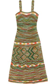 M MISSONI Crochet-knit cotton dress. #mmissoni #cloth #dress